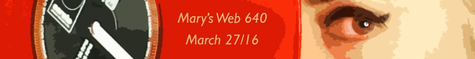 Mary's web radio show 640