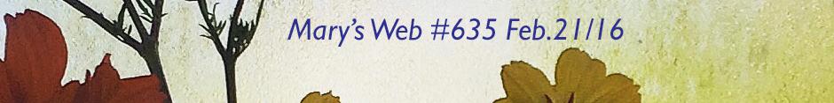 Mary's web radio show 635